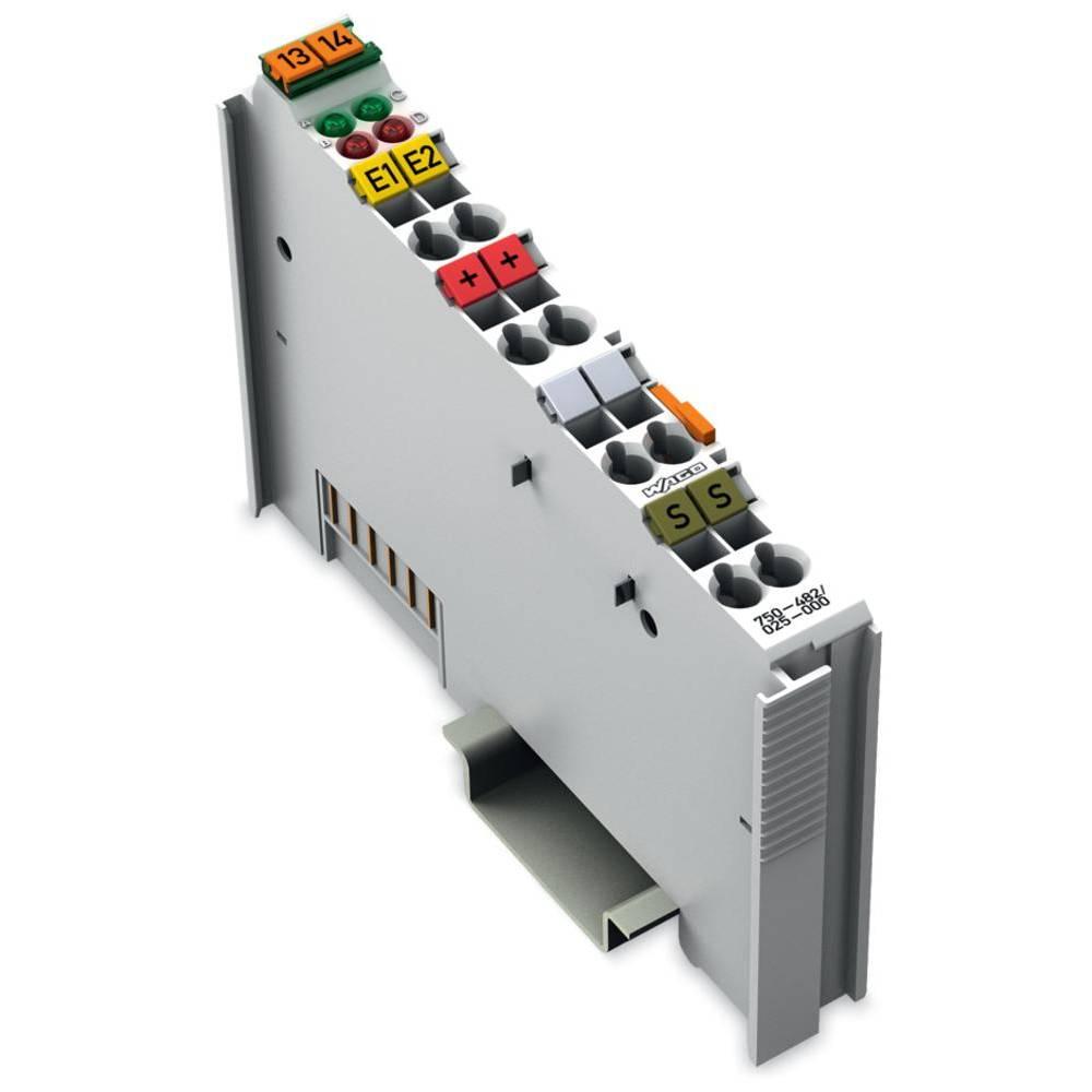 WAGO 2-kanalna-analogna vhodna spona 750-482/025-000 vsebuje: 1 kos