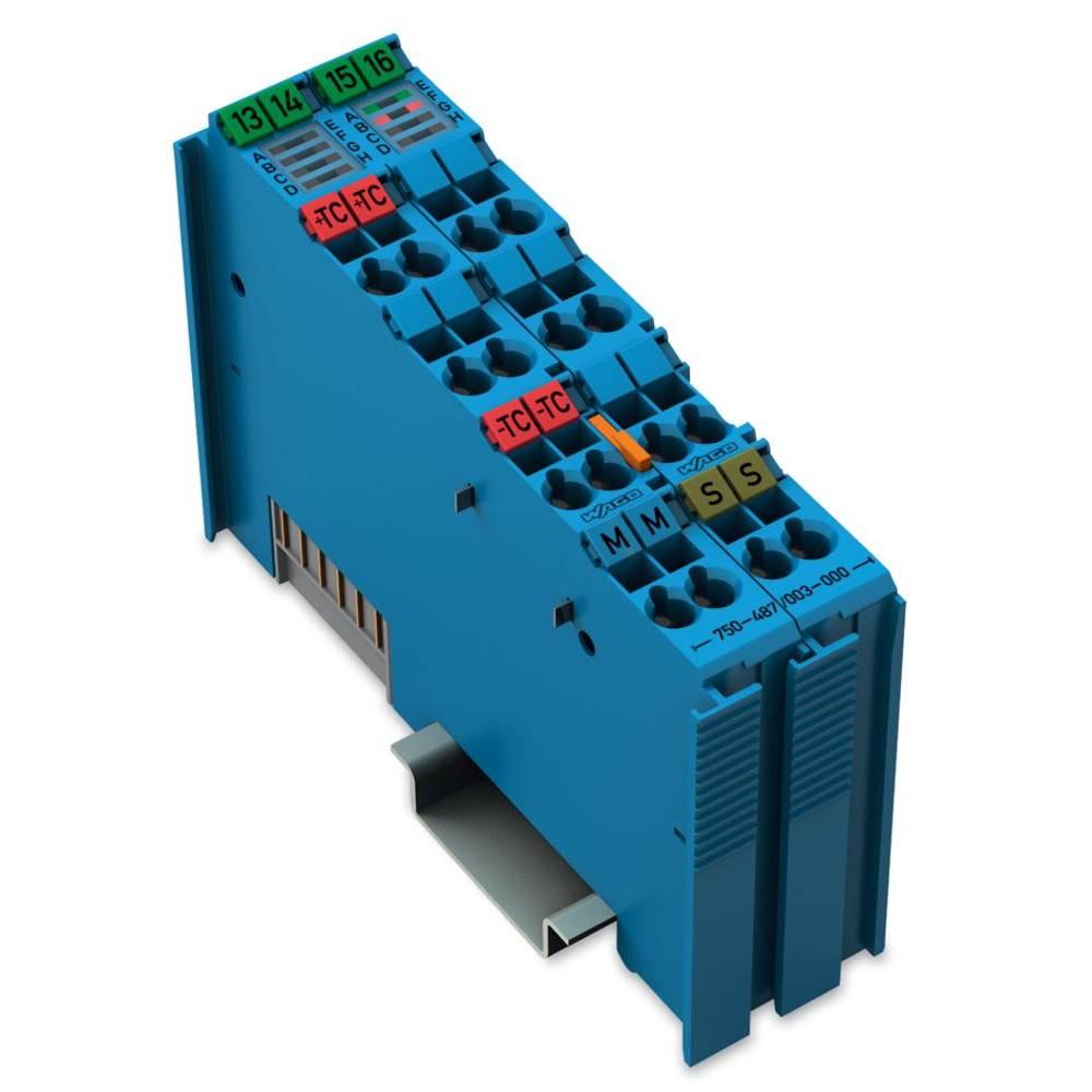 WAGO 2-kanalna-analogna vhodna spona 750-487/003-000 vsebuje: 1 kos