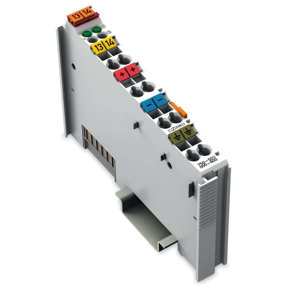 WAGO 2-kanalna-digitalna izhodna spona 750-501/000-800 24 V/DC vsebuje: 1 kos