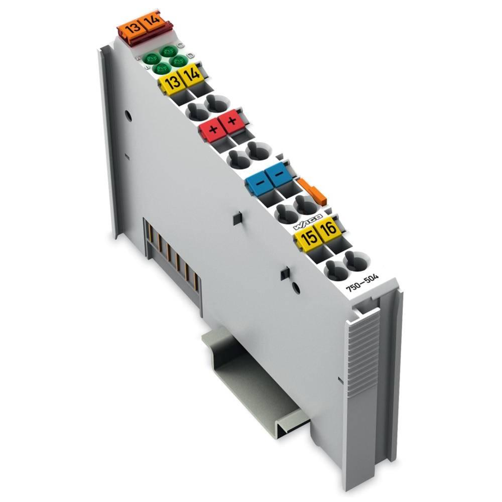 WAGO 4-kanalna-digitalna izhodna spona 750-504 24 V/DC vsebuje: 1 kos