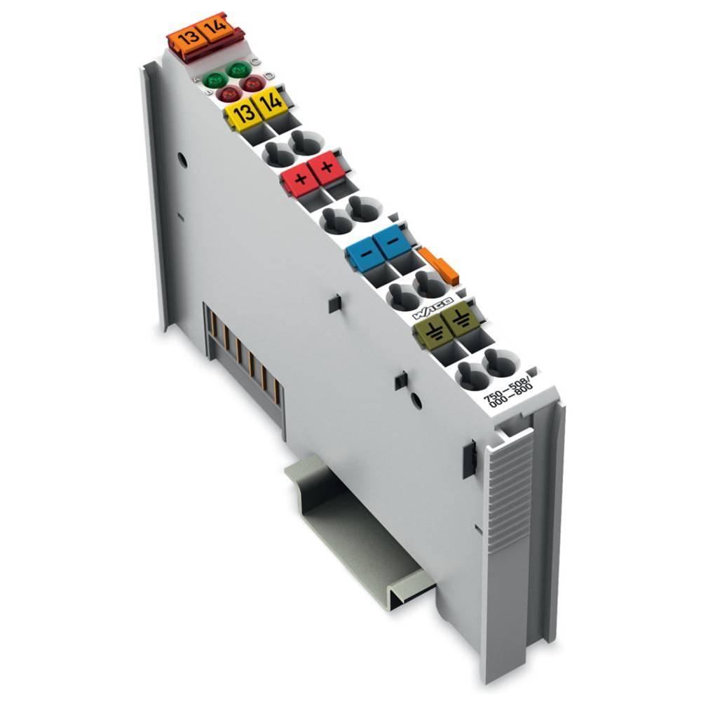 WAGO 2-kanalna-digitalna izhodna spona 750-508/000-800 24 V/DC vsebuje: 1 kos