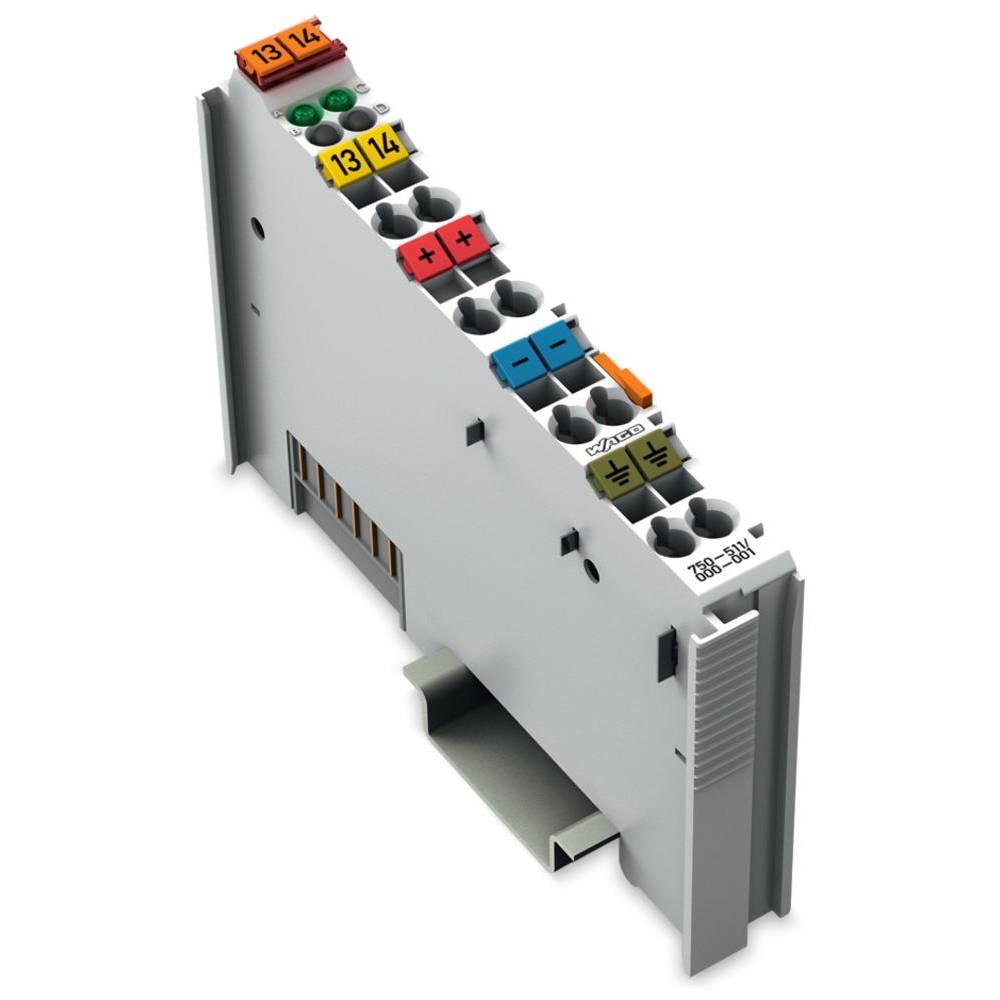 WAGO 2-kanalni-impulzna izhodna spona 750-511/000-001 24 V/DC vsebuje: 1 kos