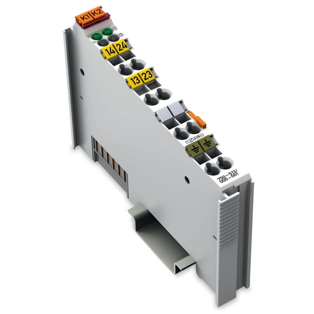 WAGO 2-kanalni-relejska izhodna spona 750-513/000-001 vsebuje: 1 kos