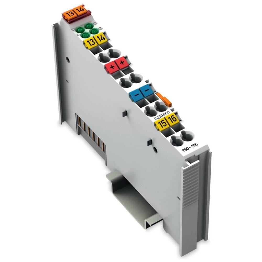 WAGO 4-kanalna-digitalna izhodna spona 750-516 24 V/DC vsebuje: 1 kos