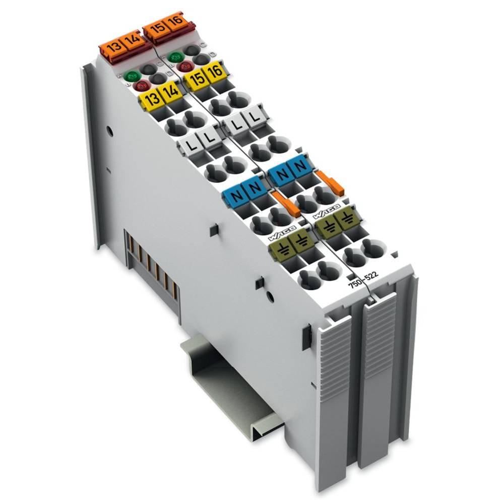 WAGO 2-kanalna-digitalna izhodna spona 750-522 vsebuje: 1 kos