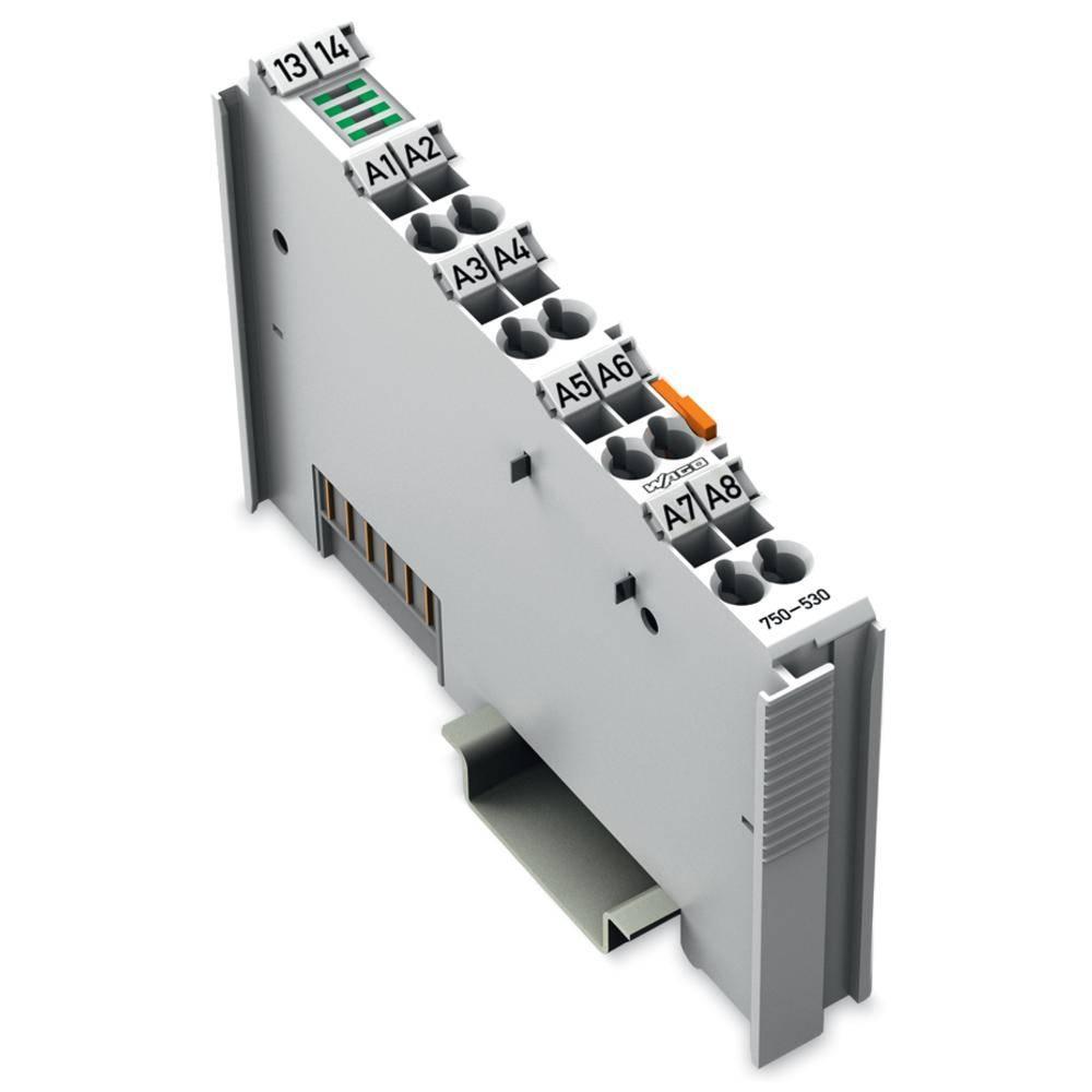 WAGO 8-kanalna-digitalna izhodna spona 750-530 24 V/DC vsebuje: 1 kos