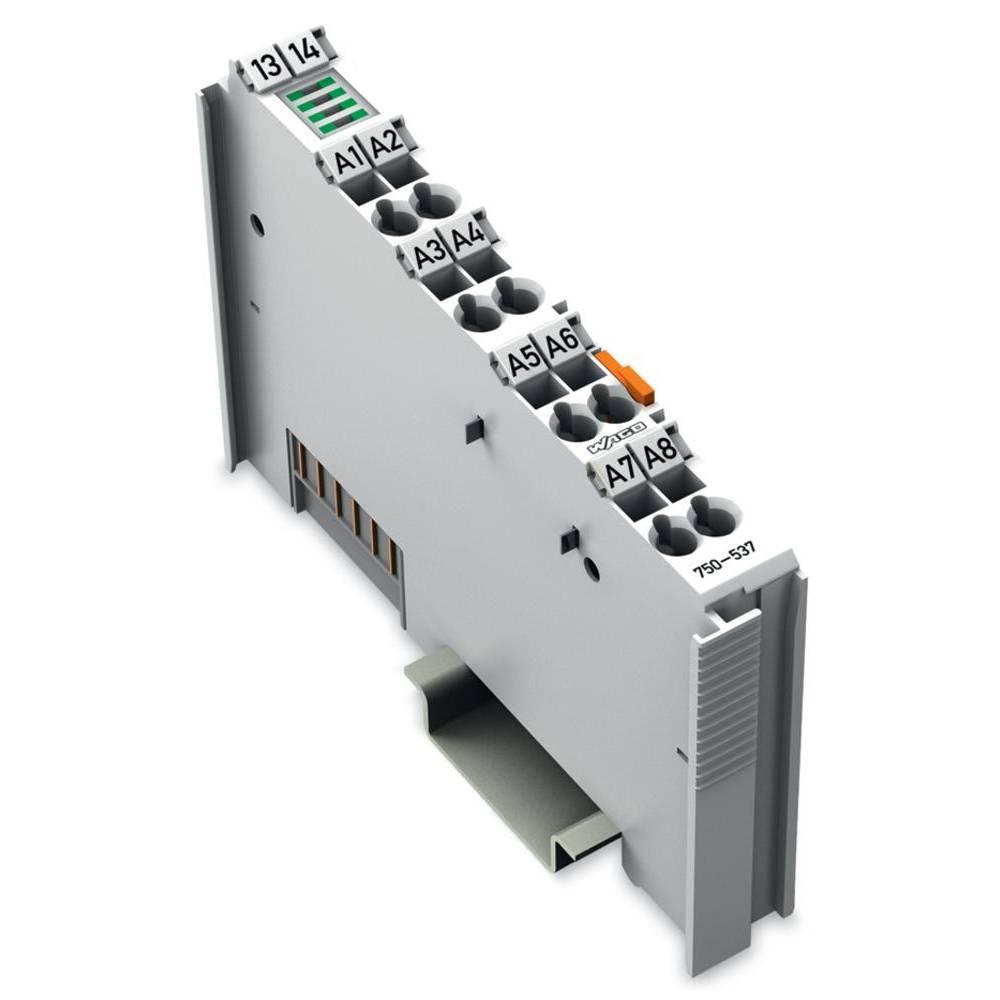 WAGO 8-kanalna-digitalna izhodna spona 750-537 24 V/DC vsebuje: 1 kos