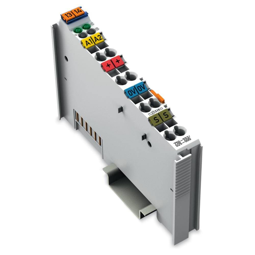 WAGO 2-kanalna-analogna izhodna spona 750-552/025-000 24 V/DC vsebuje: 1 kos