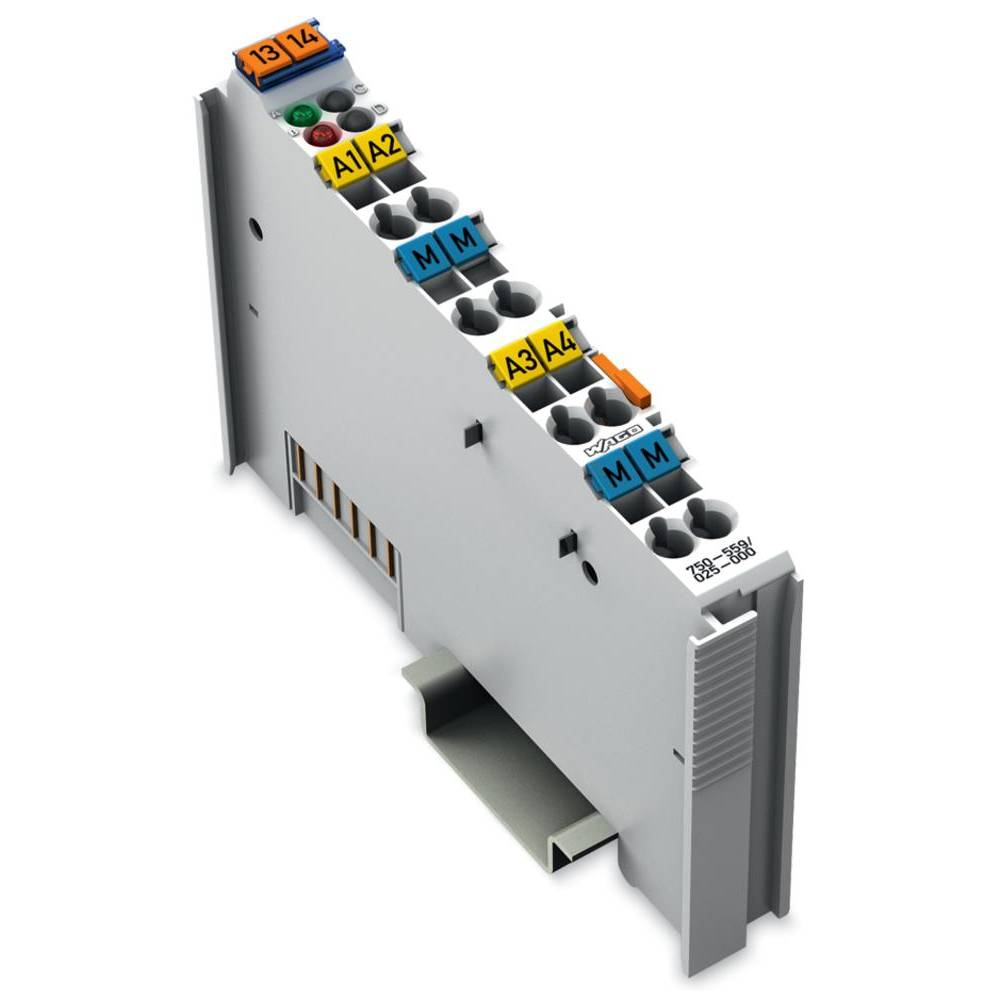 WAGO 4-kanalna-analogna izhodna spona 750-559/025-000 prek sistemske napetosti / DC vsebuje: 1 kos