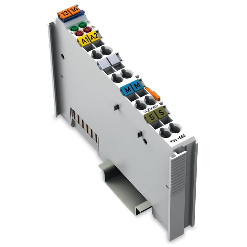 WAGO 2-kanalna-analogna izhodna spona 750-560 AC / 24 V/DC vsebuje: 1 kos
