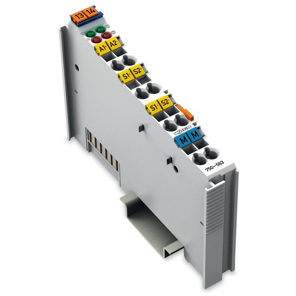 WAGO 2-kanalna-analogna izhodna spona 750-563 24 V/DC vsebuje: 1 kos