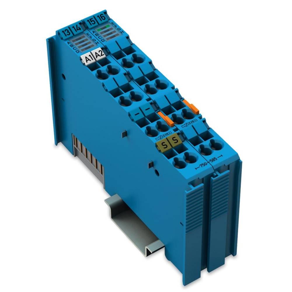 WAGO 2-kanalna-analogna izhodna spona 750-585 vsebuje: 1 kos