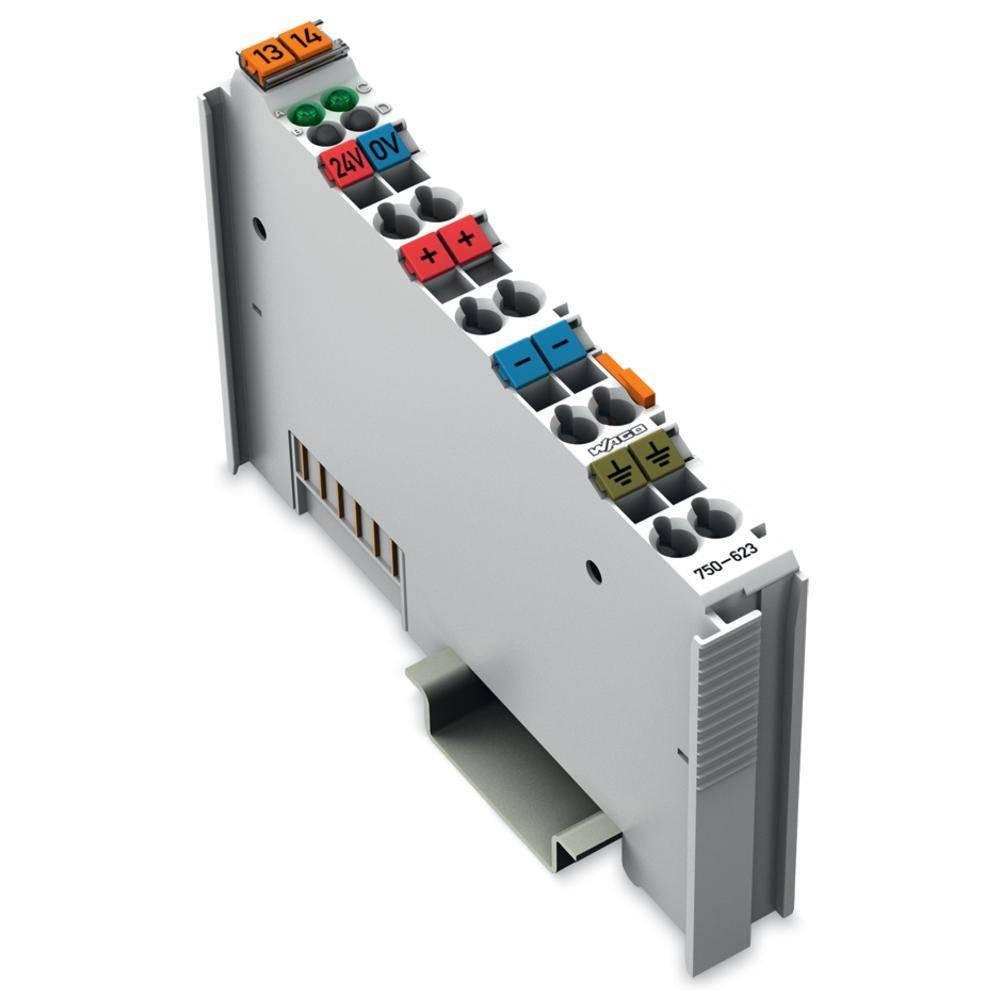 WAGO potencialno napajanje 750-623 24 V/DC vsebuje: 1 kos