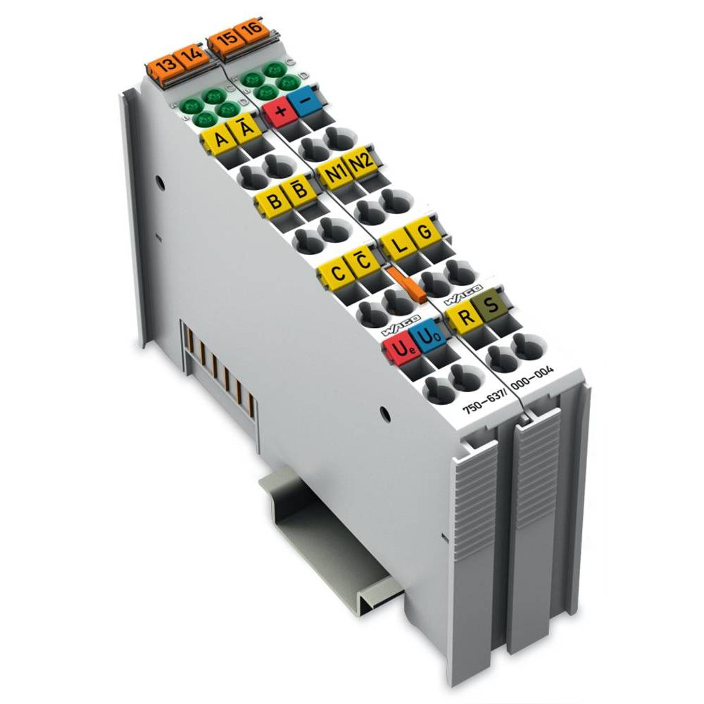 WAGO inkrementalni kodirni vmesnik 750-637/000-004 24 V/DC vsebuje: 1 kos