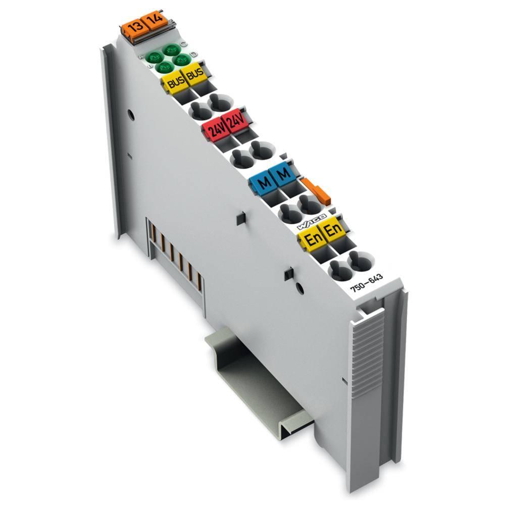 WAGO MP-bus-master-spona 750-643 prek sistemske napetosti DC/DC vsebuje: 1 kos
