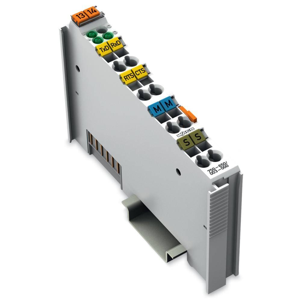 WAGO serijski vmesnik 750-650/003-000 prek sistemske napetosti DC/DC vsebuje: 1 kos