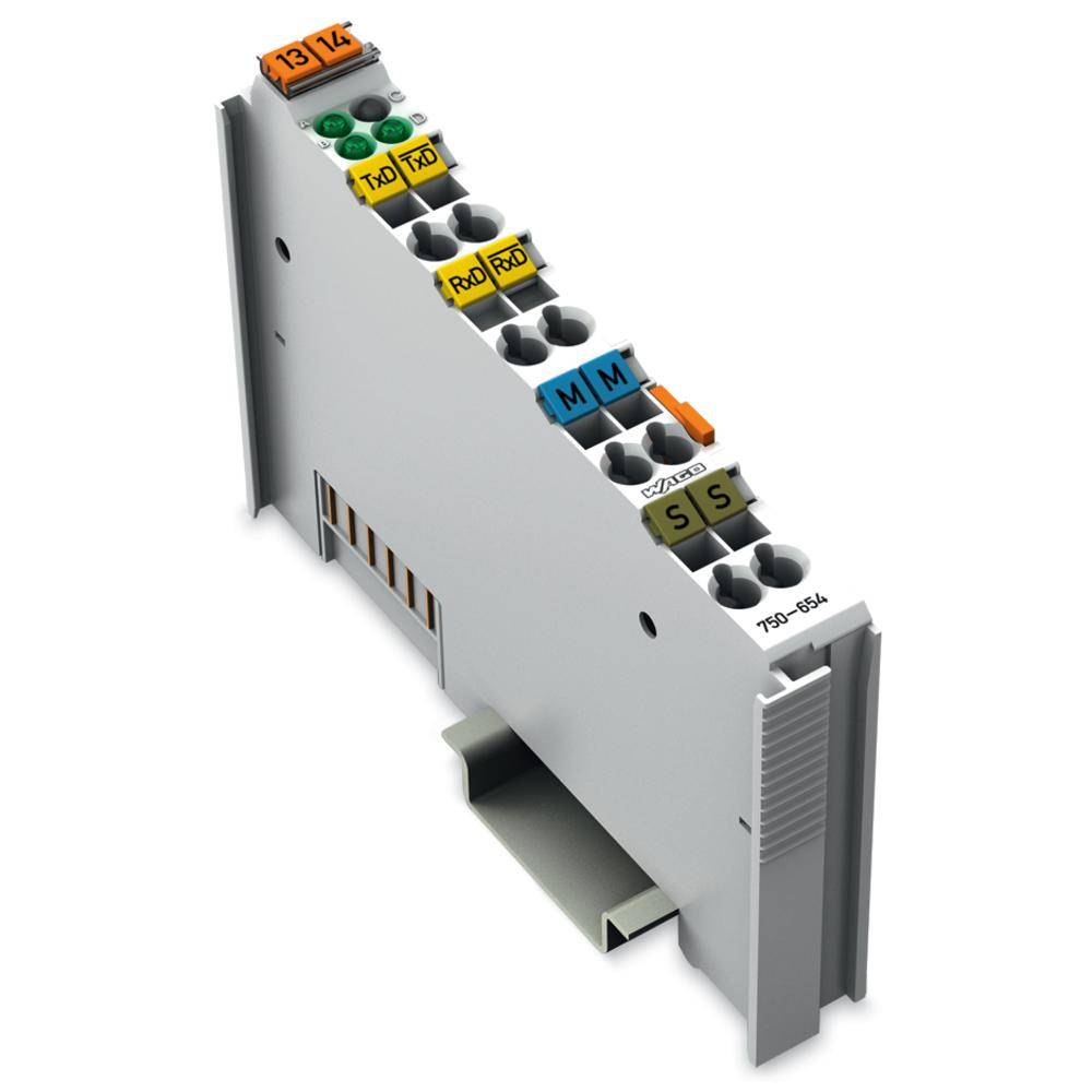 WAGO spona za izmenjavo podatkov 750-654 prek sistemske napetosti DC/DC vsebuje: 1 kos