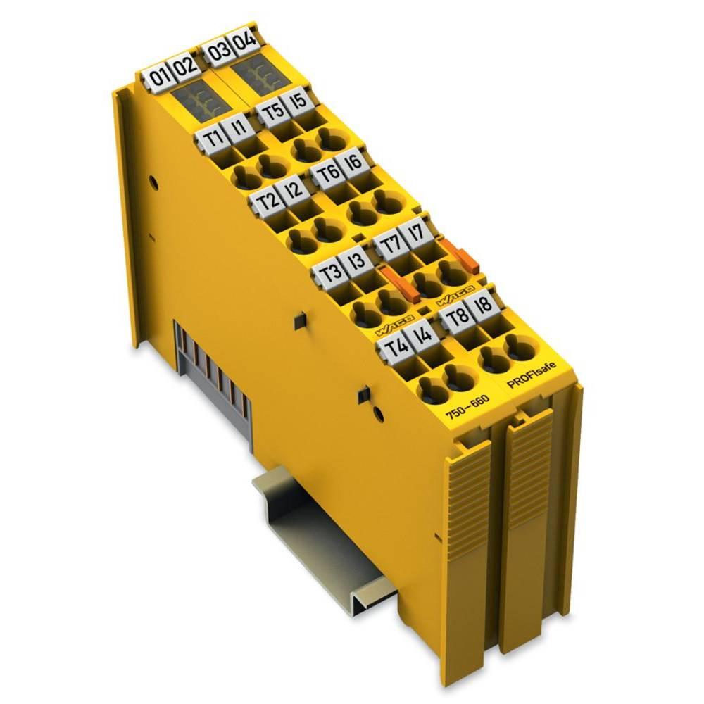 WAGO 8-kanalna-digitalna vhodna spona PROFIsafe 750-660/000-001 24 V/DC vsebuje: 1 kos