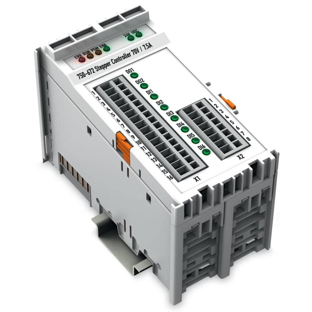WAGO krmilnik za Stepper motor 750-672 krmilna napetost: 24 V/DC vsebuje: 1 kos