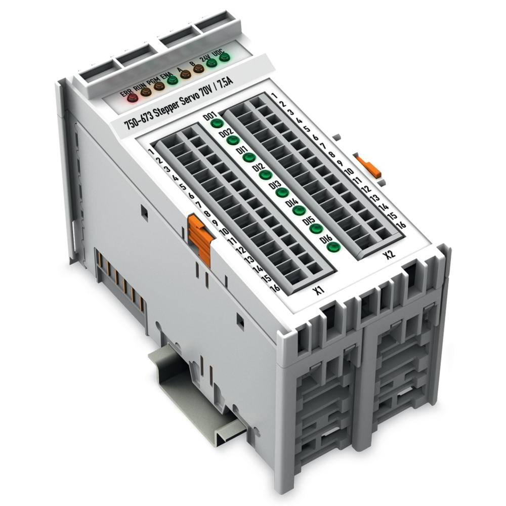 WAGO servo za Stepper motor 750-673 krmilna napetost: 24 V/DC vsebuje: 1 kos