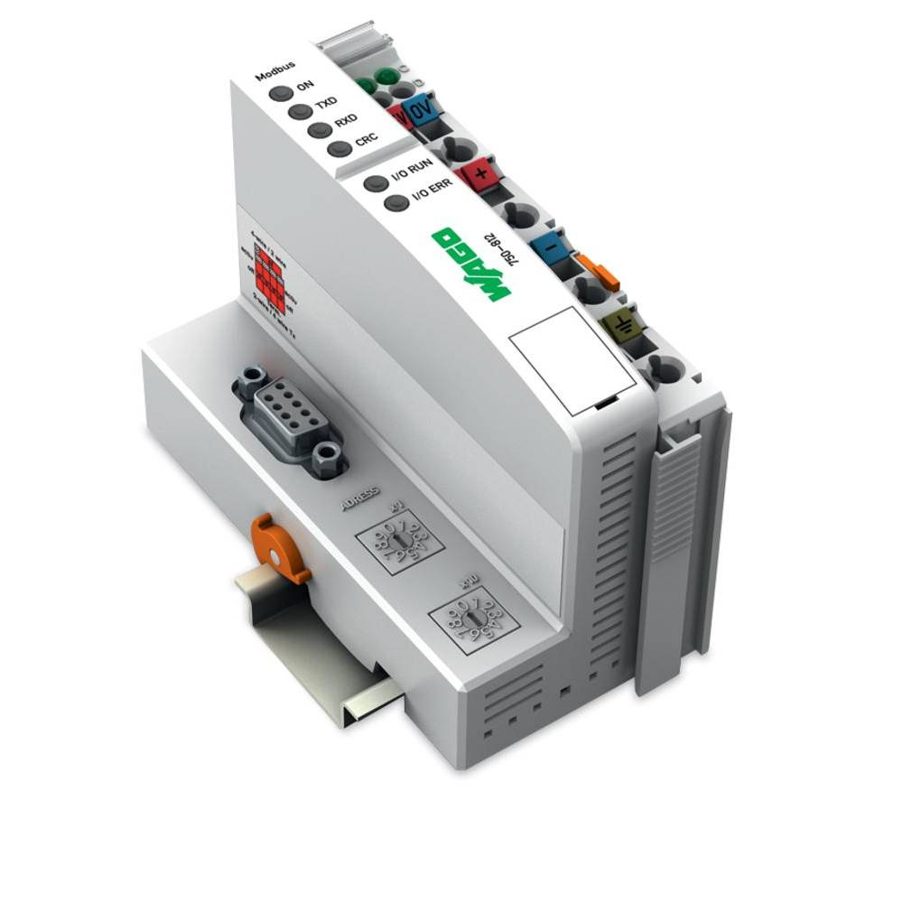 WAGO SPS - Feldbus krmilnik z možnostjo programiranja MODBUS 750-812/025-000 24 V/DC vsebuje: 1 kos
