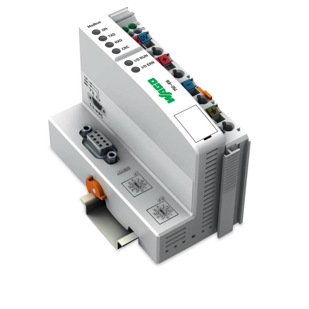 WAGO SPS - Feldbus krmilnik z možnostjo programiranja MODBUS 750-816 24 V/DC vsebuje: 1 kos