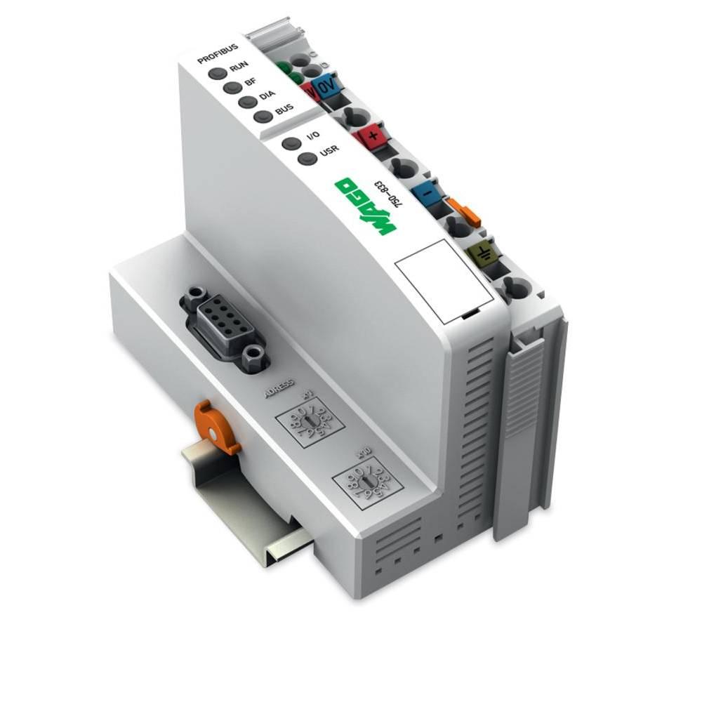 WAGO SPS - Feldbus krmilnik z možnostjo programiranja PROFIBUS DP/V1 750-833 vsebuje: 1 kos
