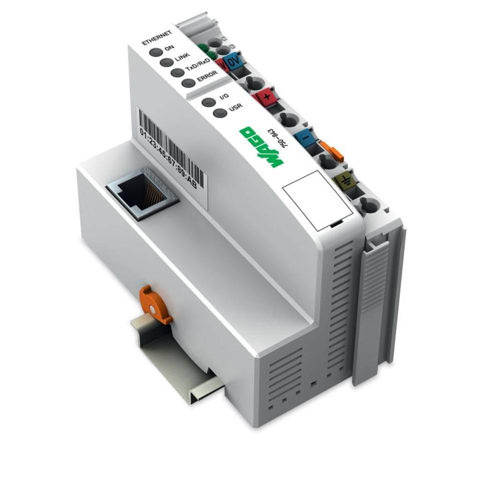 WAGO SPS - Feldbus krmilnik z možnostjo programiranja ETHERNET TCP/IP 750-843 24 V/DC vsebuje: 1 kos