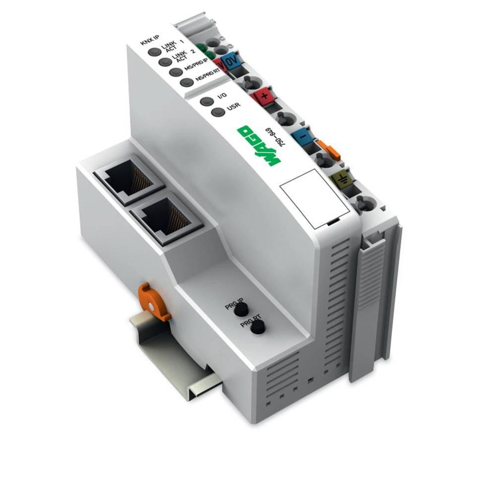 WAGO SPS - Feldbus krmilnik z možnostjo programiranja KNX IP 750-849 24 V/DC vsebuje: 1 kos