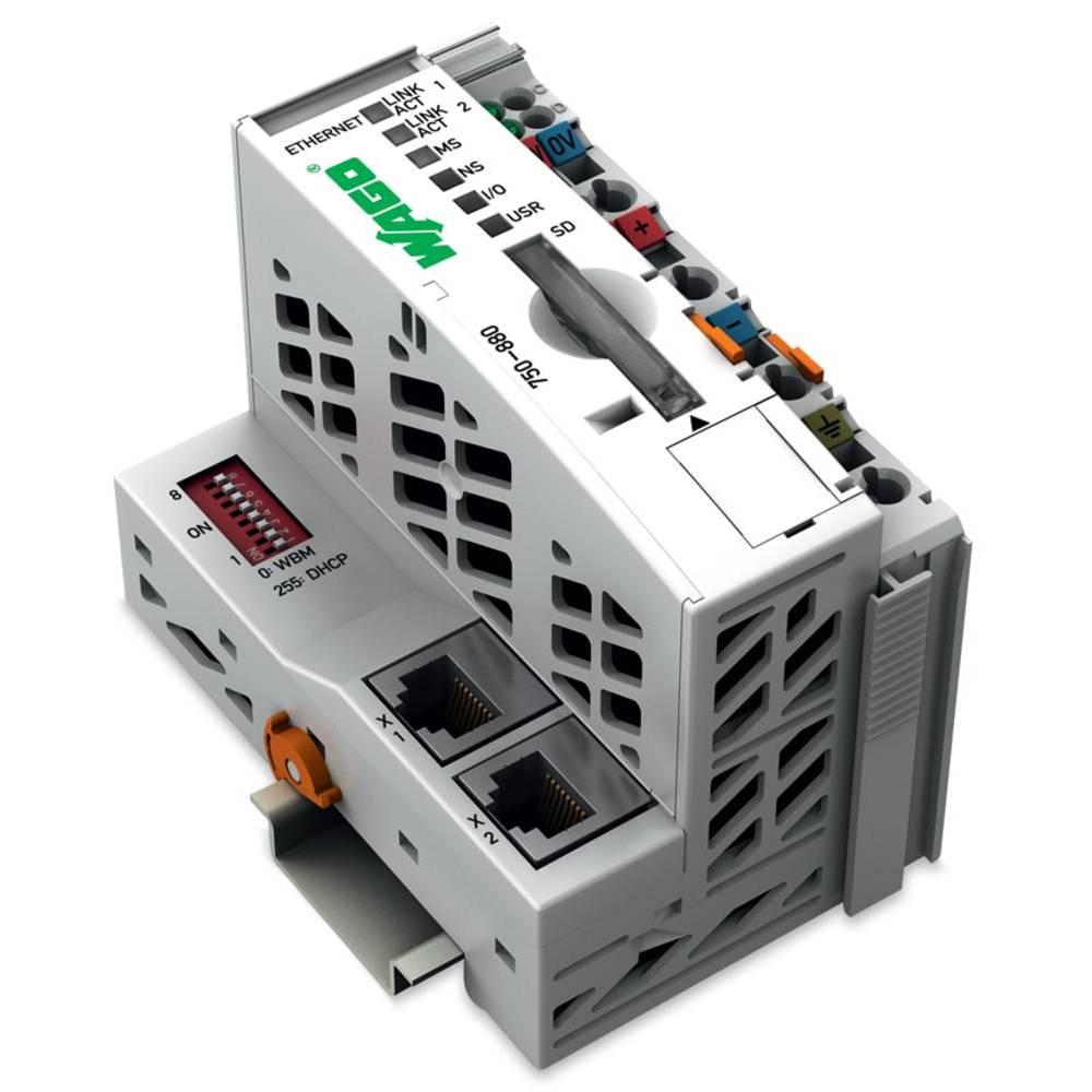 WAGO SPS - Feldbus krmilnik z možnostjo programiranja ETHERNET 750-880 24 V/DC vsebuje: 1 kos