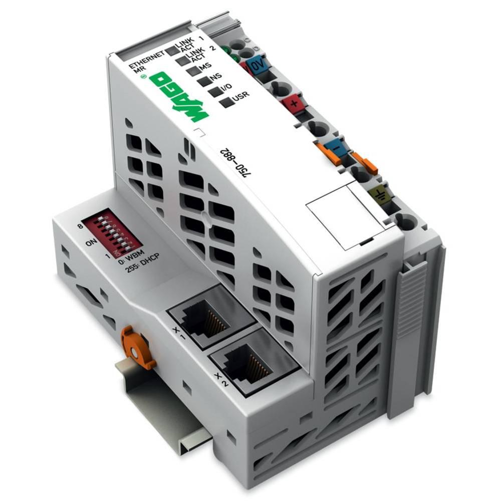 WAGO SPS - Programmierbarer Medienredinanz-Feldbuskrmilnik ETHERNET 750-882 24 V/DC vsebuje: 1 kos