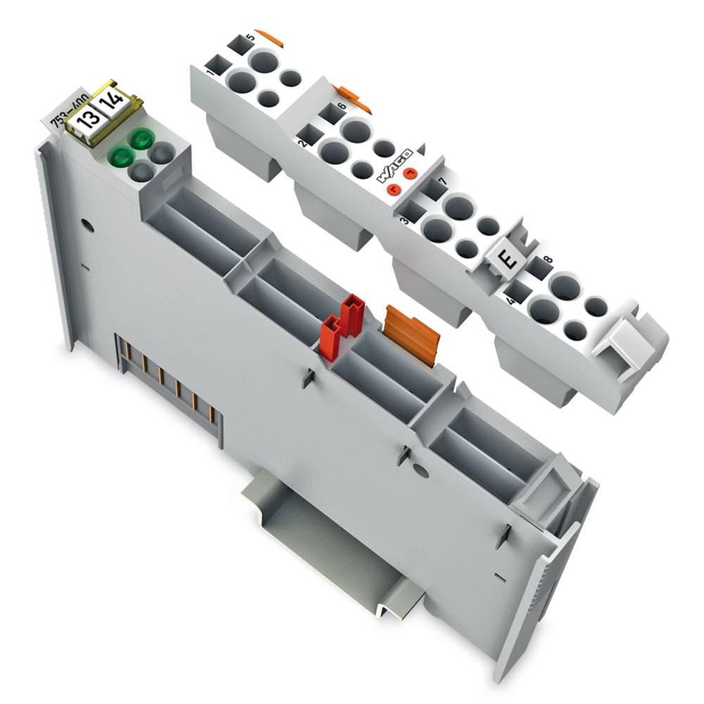 WAGO 2-kanalna-digitalna vhodna spona 753-400 24 V/DC vsebuje: 1 kos