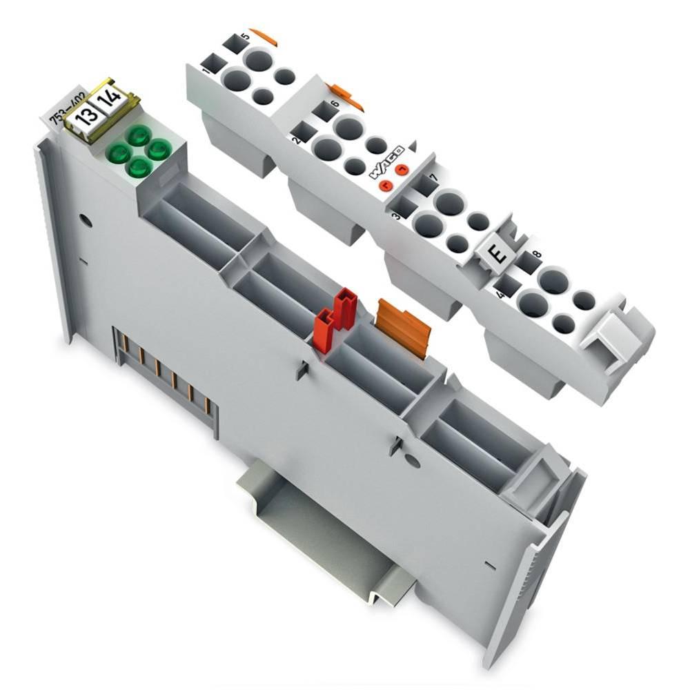 WAGO 4-kanalna-digitalna vhodna spona 753-402 24 V/DC vsebuje: 1 kos