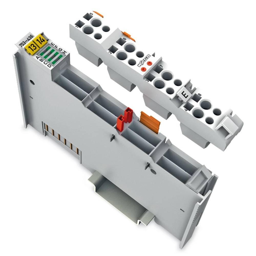 WAGO 8-kanalna-digitalna vhodna spona 753-436 24 V/DC vsebuje: 1 kos