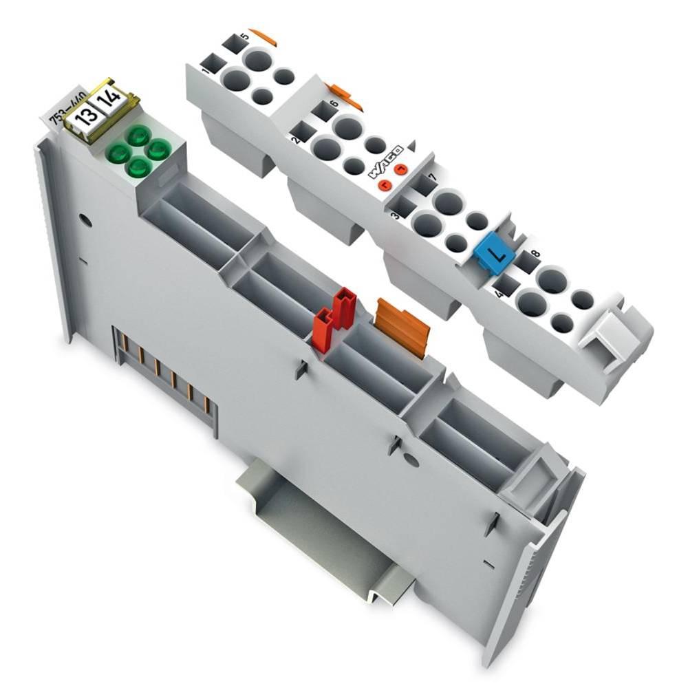WAGO 4-kanalna-digitalna vhodna spona 753-440 vsebuje: 1 kos