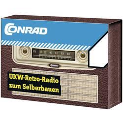Conrad UKV-radio v retro videza, komplet za sestavljanje 10057