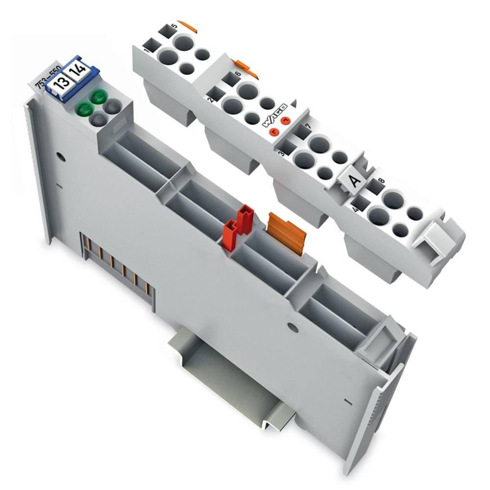 WAGO 2-kanalna-analogna izhodna spona 753-550 prek sistemske napetosti / DC vsebuje: 1 kos