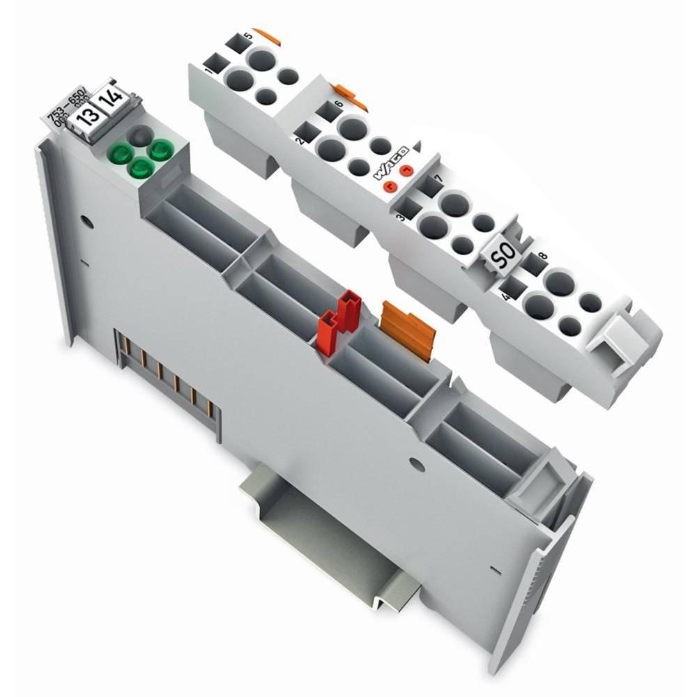 WAGO serijski vmesnik 753-650/003-000 prek sistemske napetosti DC/DC vsebuje: 1 kos