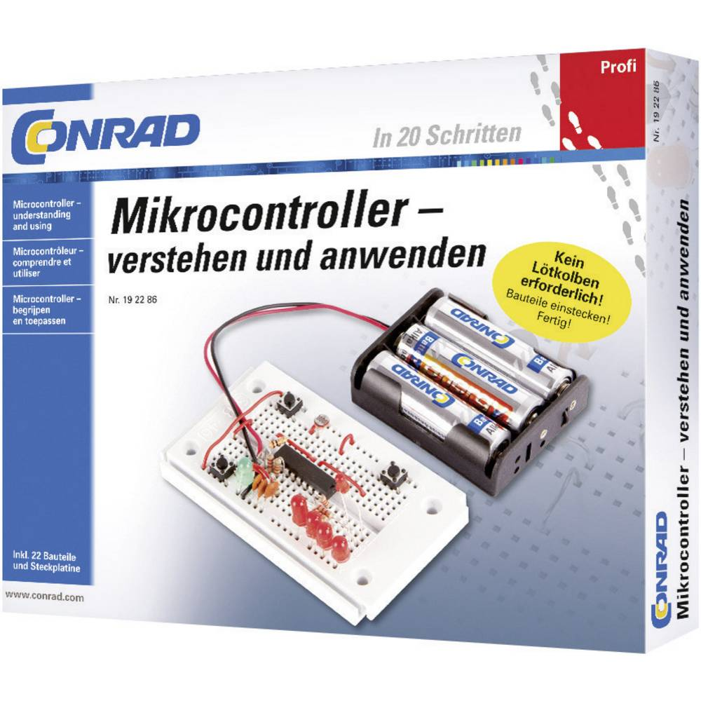 Profesionalni paket za učenje Mikroupravljač 10104 Conrad od 14 godina
