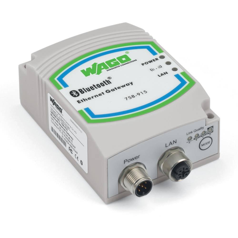 WAGO Bluetooth®-ETHERNET-vrata 758-915 vsebuje: 1 kos