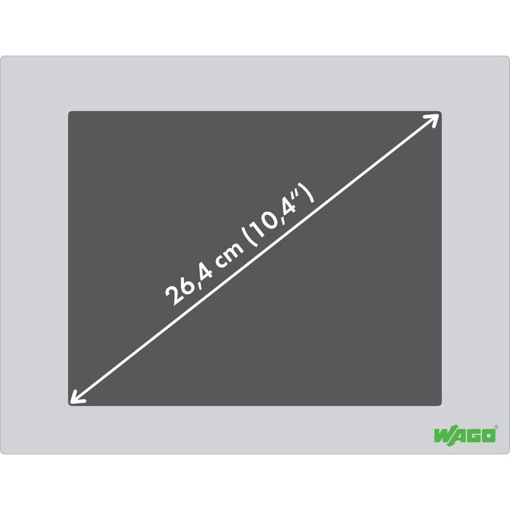WAGO PERSPECTO® WP, spletni panel 762-1104 24 V/DC vsebuje: 1 kos