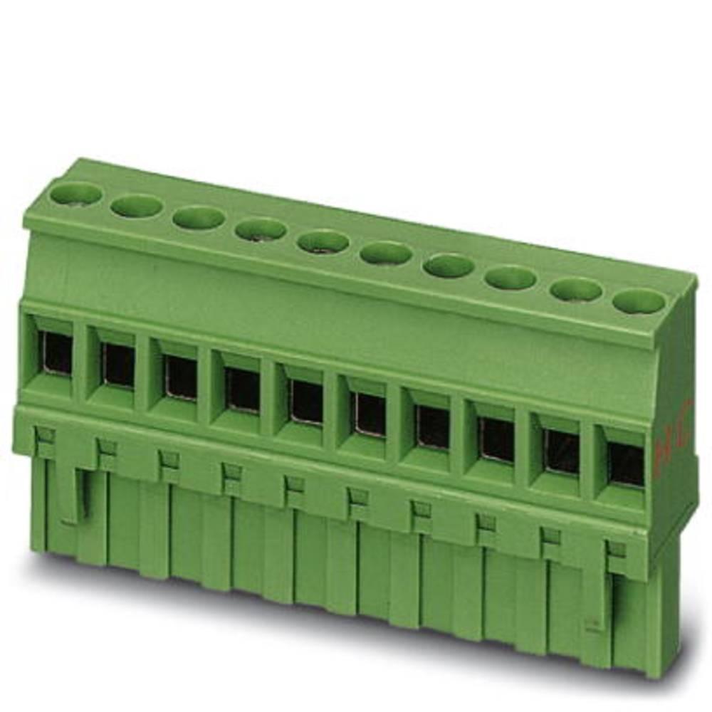 Tilslutningskabinet-kabel MVSTBR (value.1360743) Samlet antal poler 6 Phoenix Contact 1912443 Rastermål: 5.08 mm 50 stk