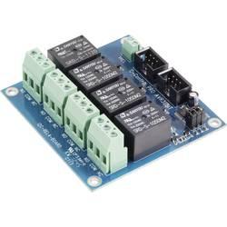Reläkort C-Control AVR 32-Bit REL4-Board Pro
