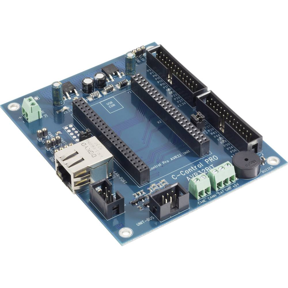C-Control PRO AVR 32-bitni Mainboard 7,5 - 9 V/DC