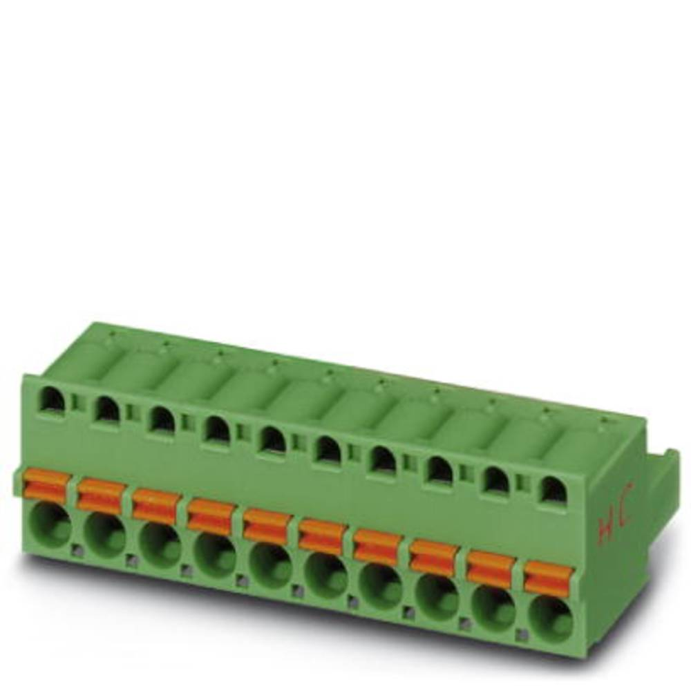 Tilslutningskabinet-kabel FKC (value.1361088) Samlet antal poler 9 Phoenix Contact 1942442 Rastermål: 5.08 mm 50 stk