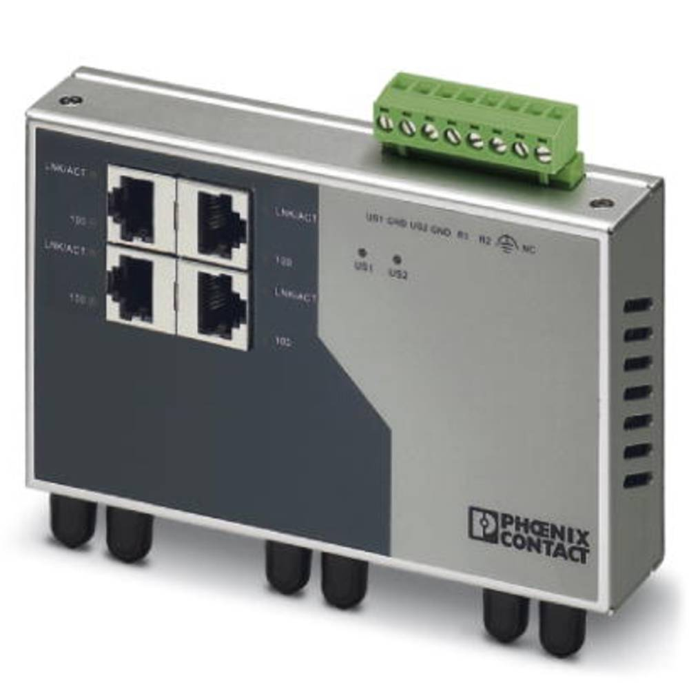 Phoenix Contact FL preklopnik SF 4TX/3FX ST - preklopnik 2832603 število Ethernet vrat 4, število vrat za optična vlakna 3