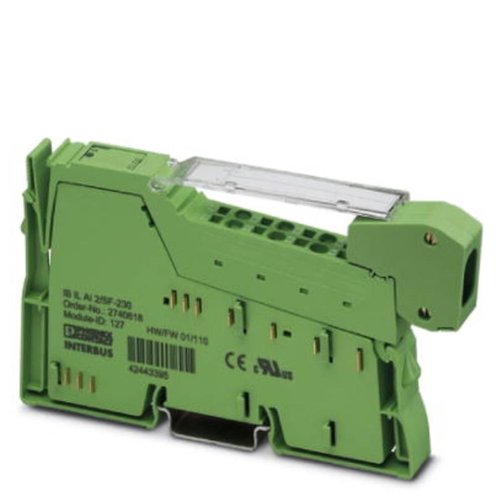 SPS-razširitveni modul Phoenix Contact IB IL AI 2/SF-230-PAC 2861577 24 V/DC