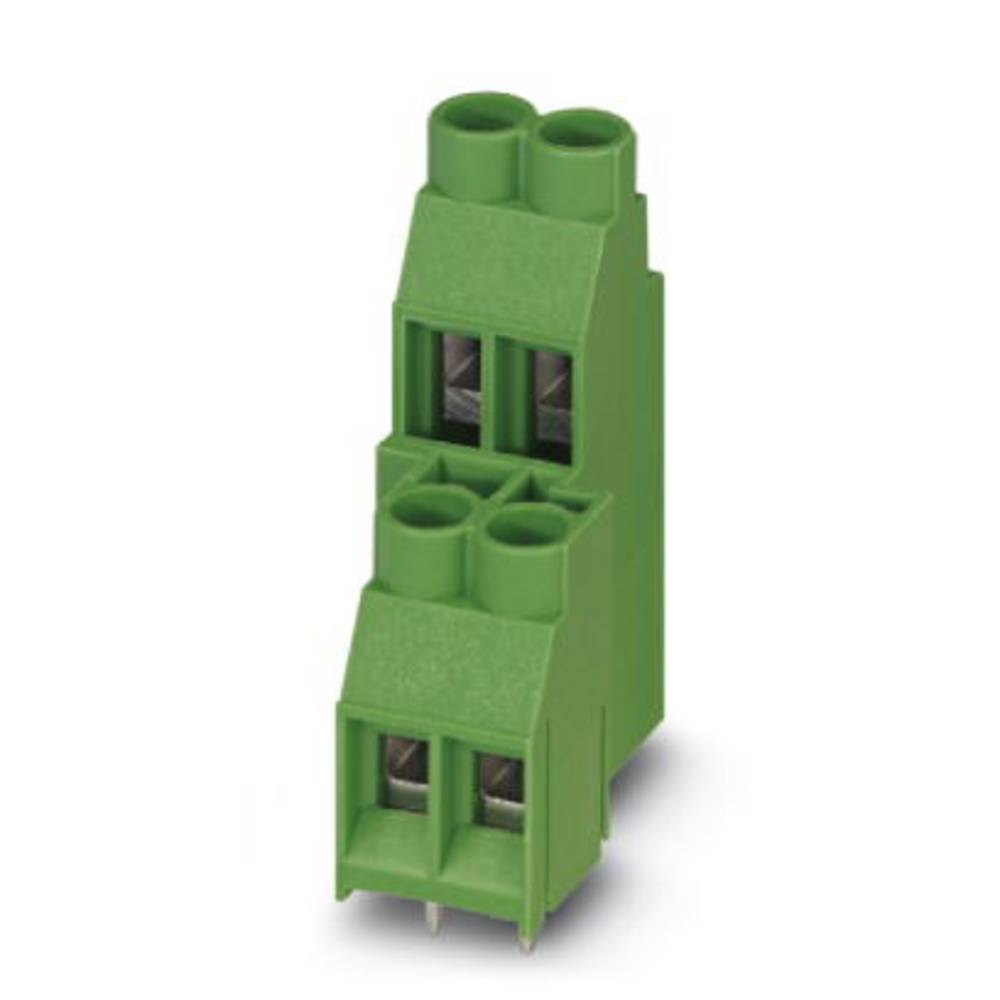 Dobbeltrækkeklemme Phoenix Contact MKKDS 5/ 2-9,5 6.00 mm² Poltal 4 Grøn 50 stk
