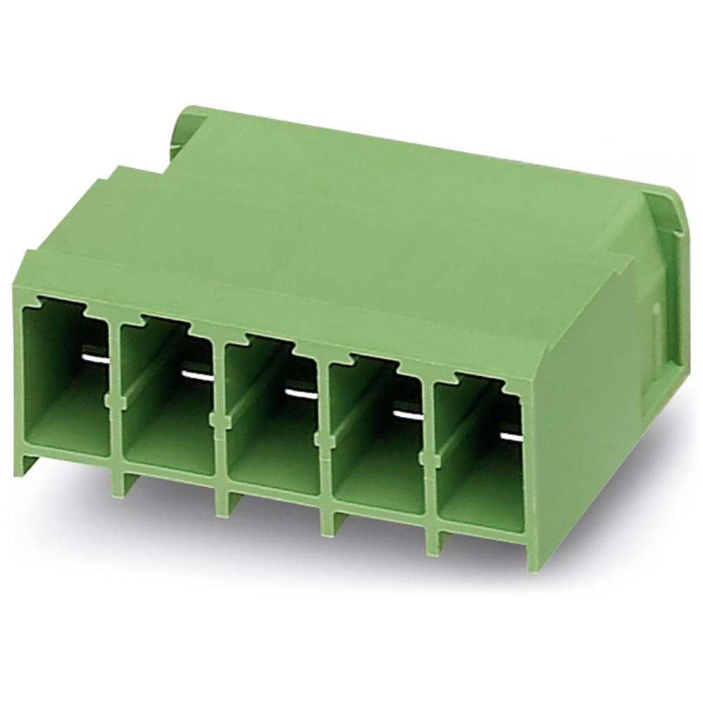 Stiftkabinet-printplade PC (value.1360698) Samlet antal poler 7 Phoenix Contact 1804849 Rastermål: 7.62 mm 50 stk