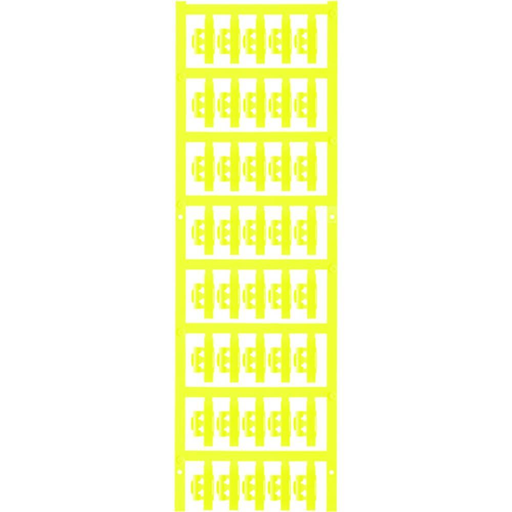 Markeringsophæng Weidmüller SFC 1/21 NEUTRAL GE 1779080004 200 stk Antal markører 200 Gul